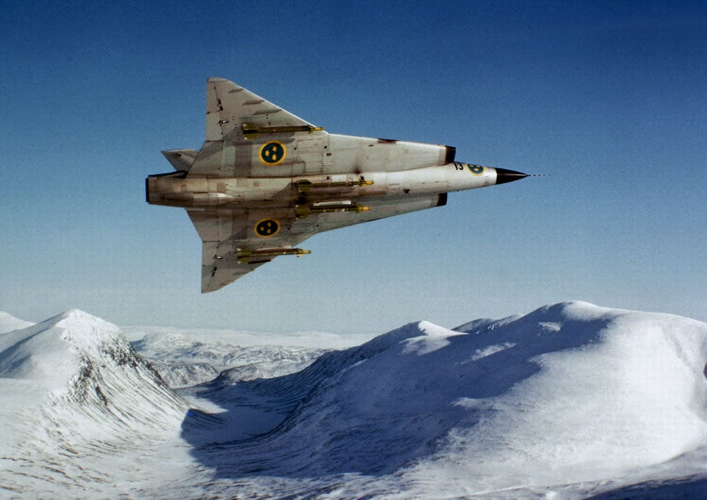 This may be the coolest, most futuristic combat jet ever built