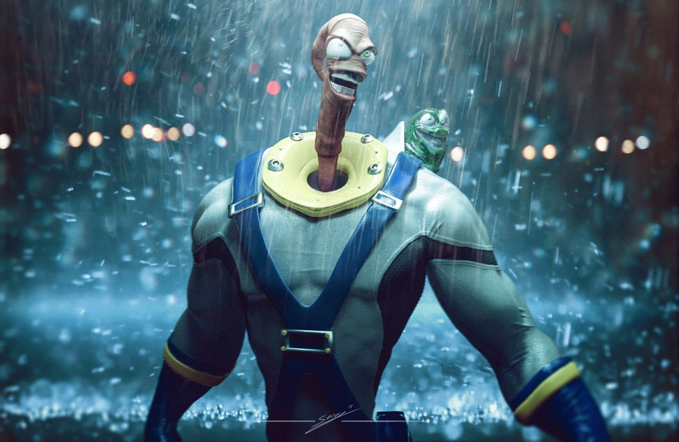 Earthworm Jim, You've Changed