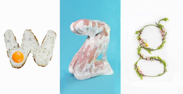 Letter Made Out Of Objects.Nine Crazy 3d Typefaces Made From Everyday Objects Gizmodo