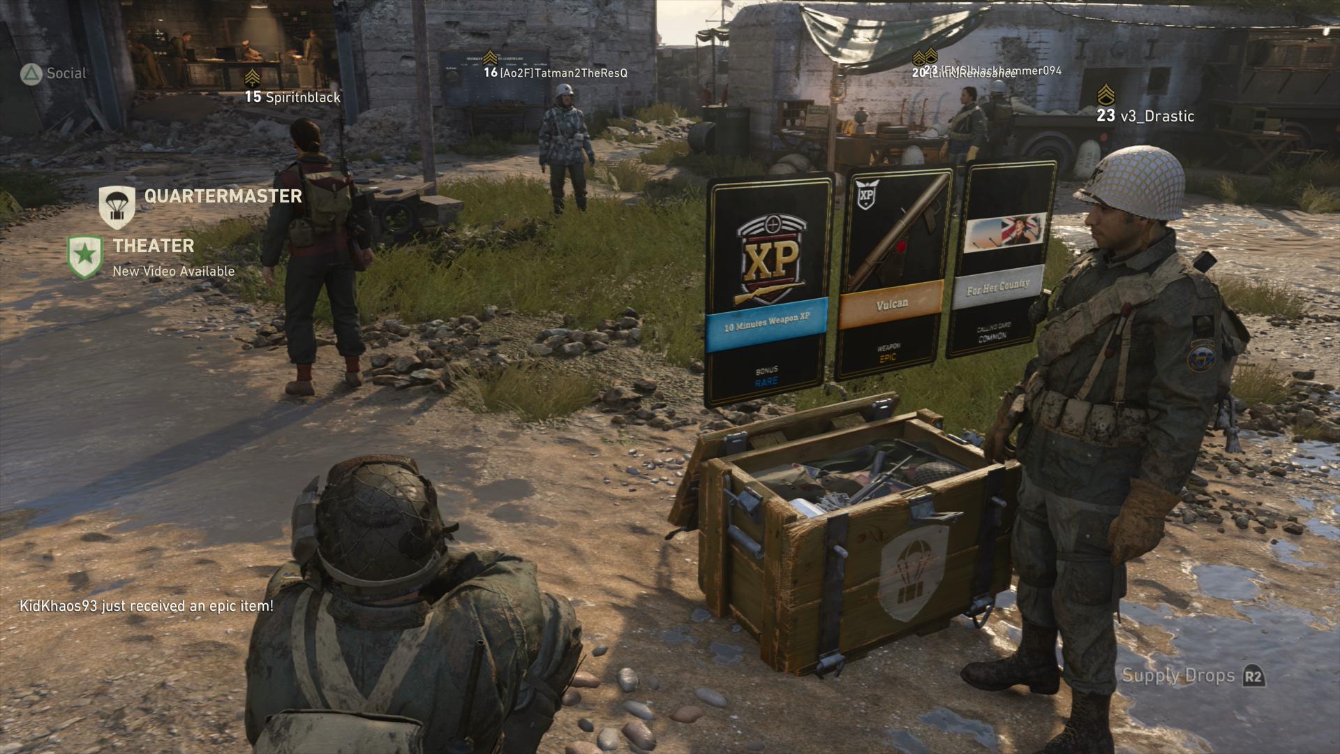 Resultado de imagen de loot boxes cod ww2