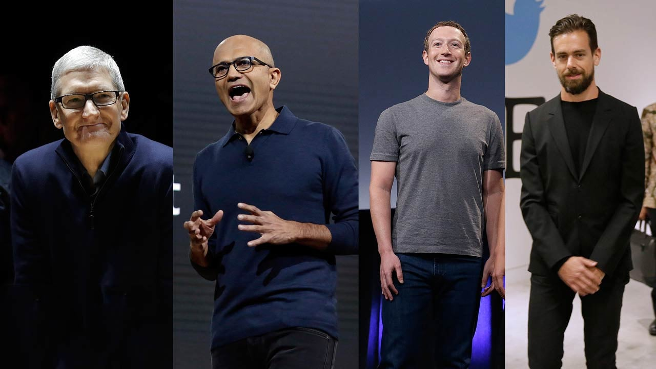 Tech CEOs Respond Like A Bunch Of Helpless Robots To Trump's Election