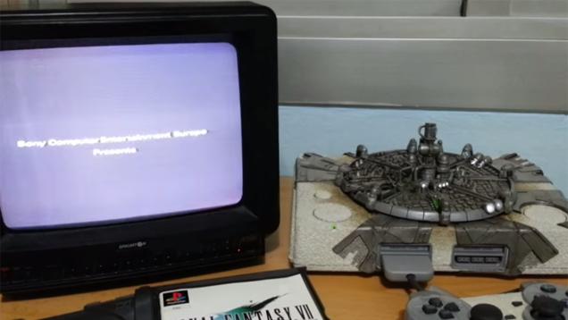 Guy Turns His PS1 Into Final Fantasy VII's Midgar