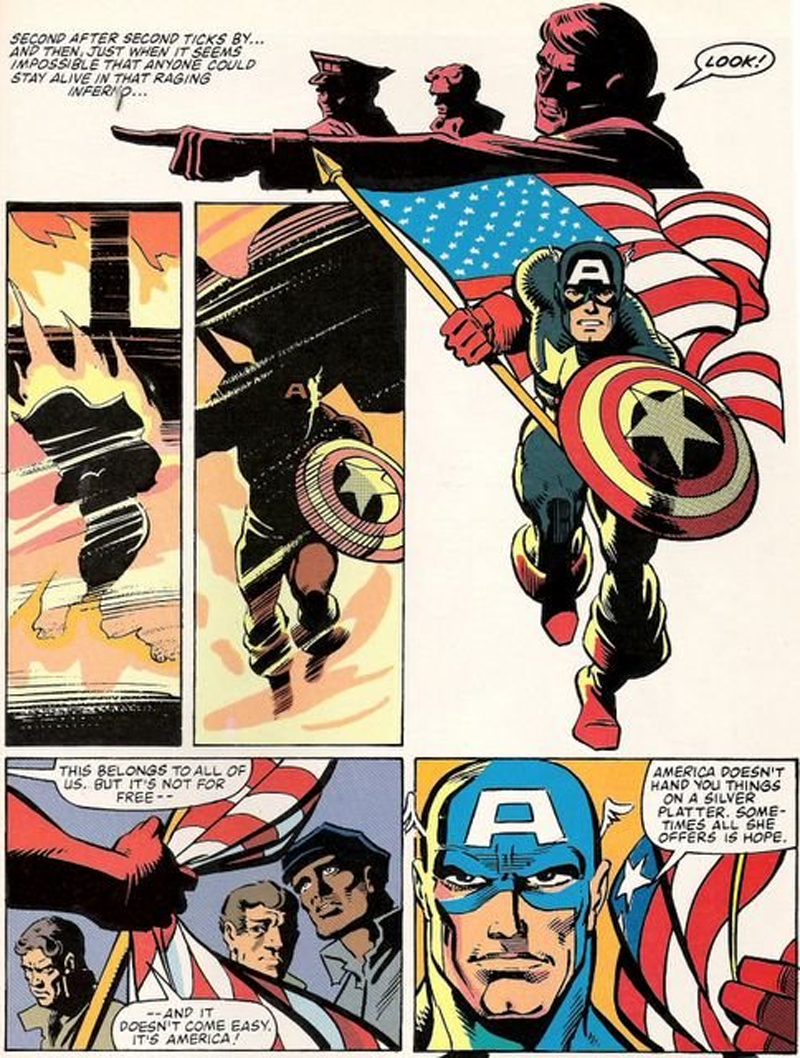 Captain America's 7 Most Patriotic Moments