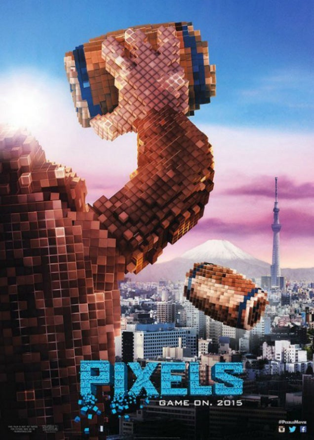 I really want the Pixels movie to be good but I know it won't be
