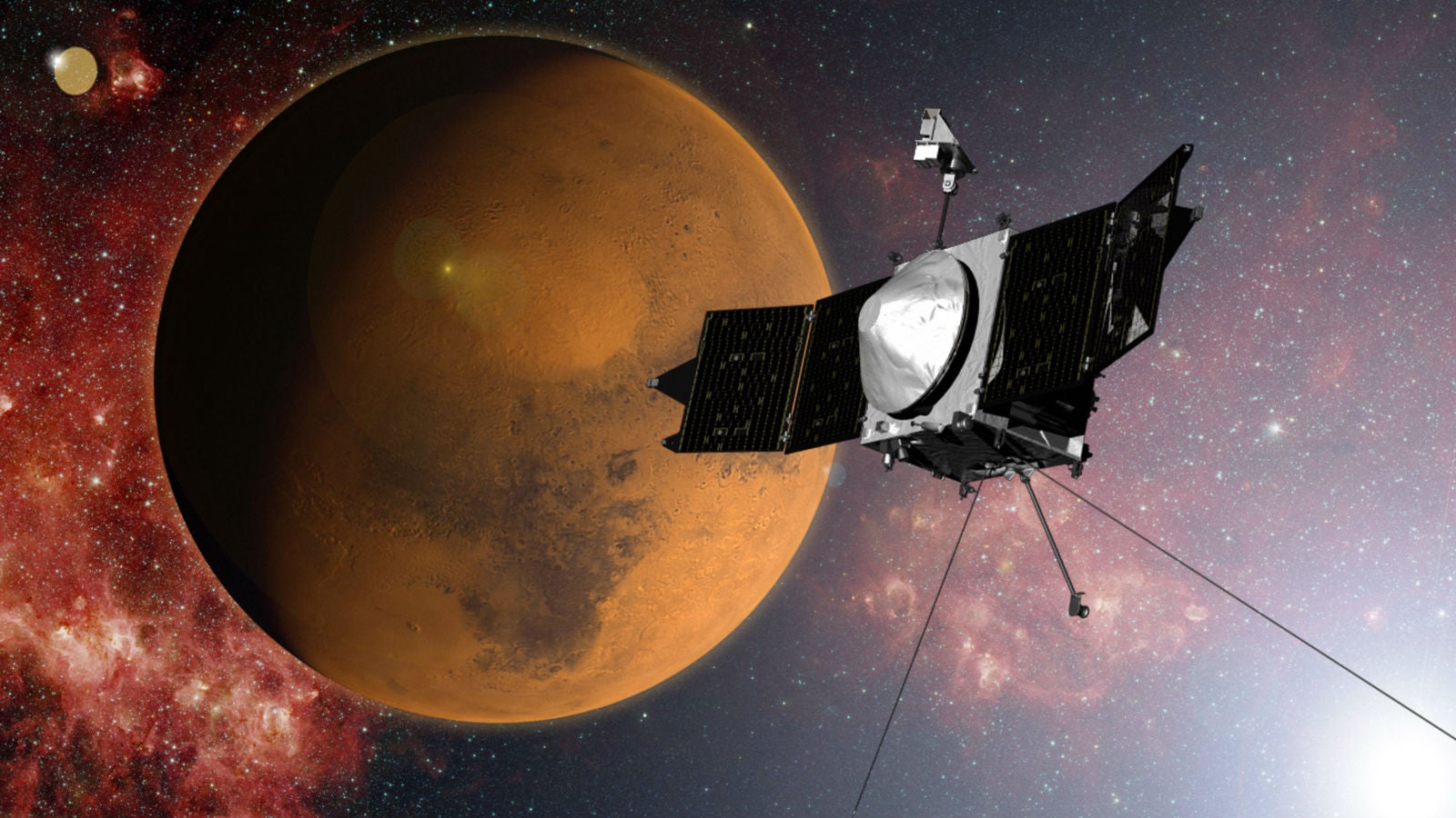 Everything You Need to Know About NASA's New Mars-Orbiter