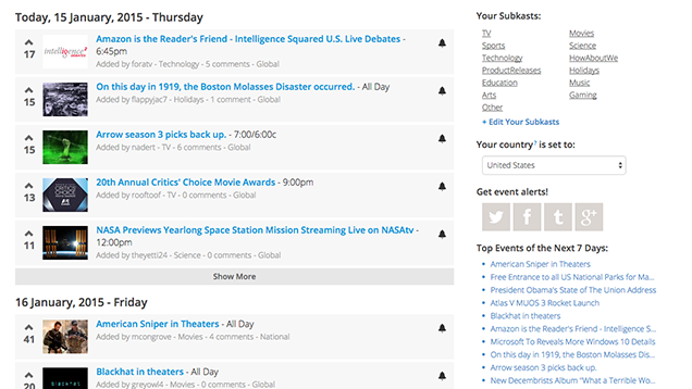 Forekast Is A Calendar Full Of Live Events, AMAs And More