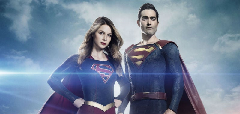 Supergirl's Man Of Steel Has Finally Suited Up