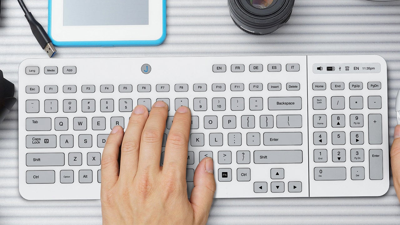 The Morphing E-Ink Keyboard May (Almost) Finally Be Here