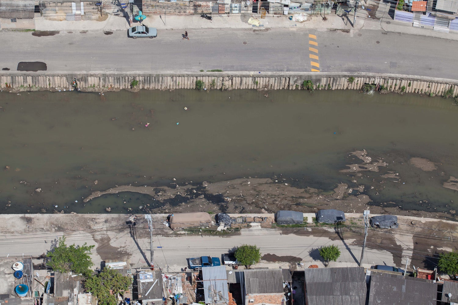 Rio's Olympic Site Looks Even Worse From the Air