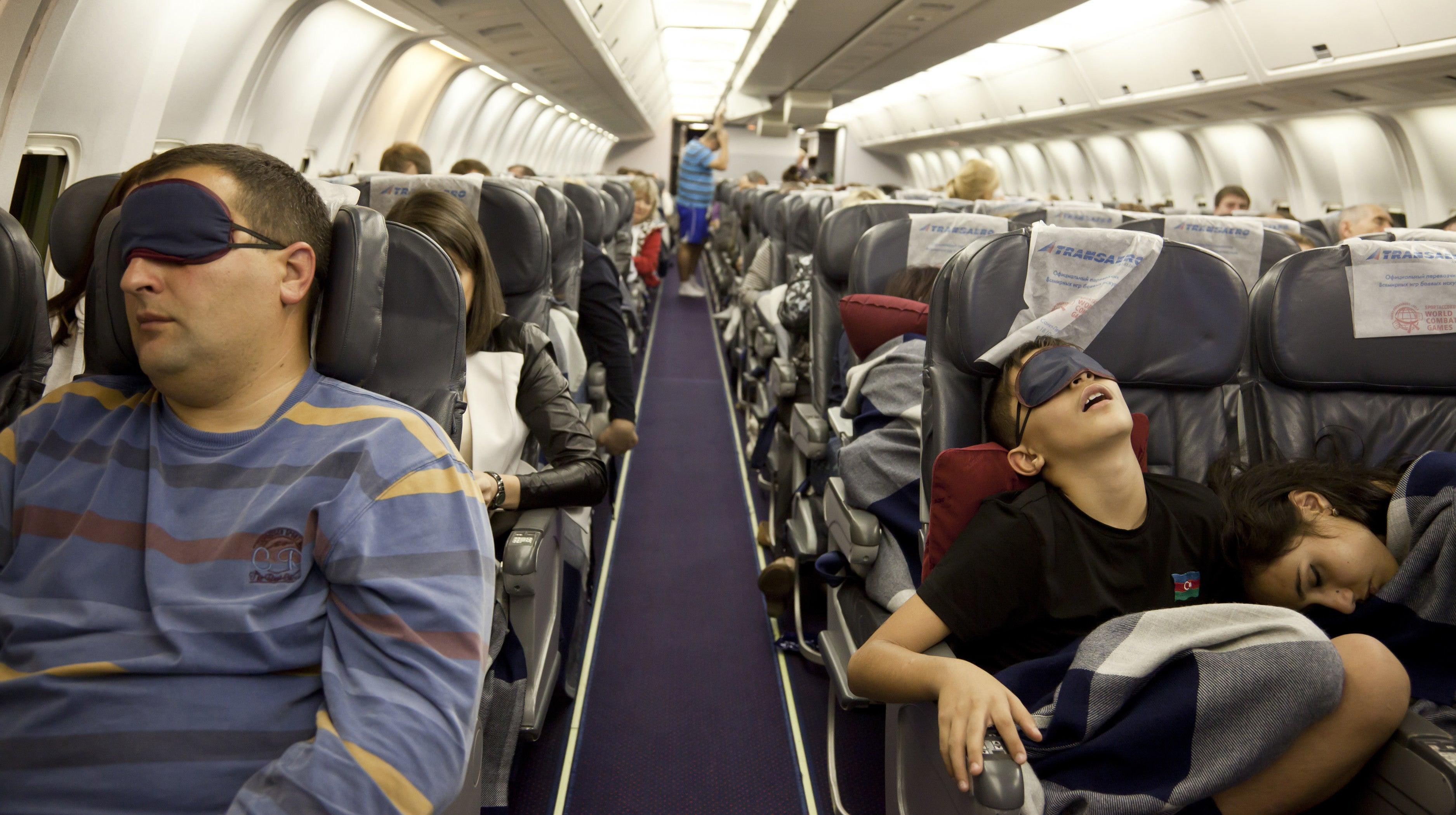 The Best Ways To Sleep On Economy Flights