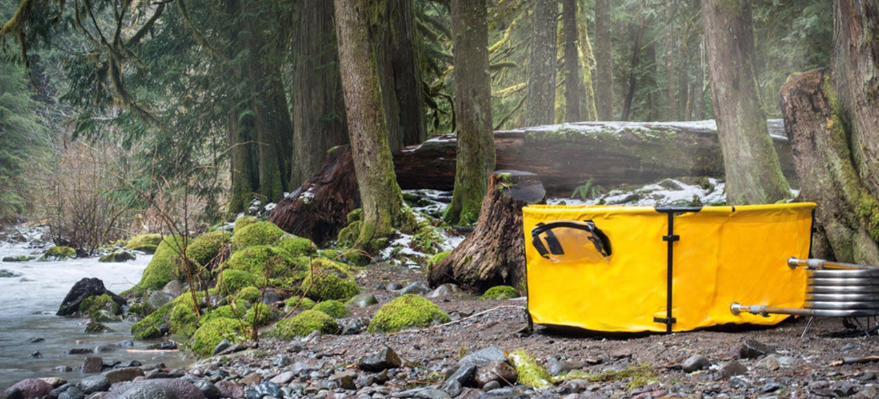 This Portable Hot Tub Makes Any Camping Trip A Luxurious Affair