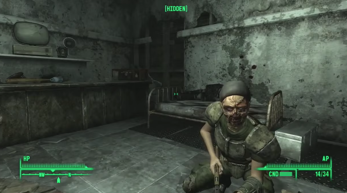 How One Man Beat Fallout 3 Without Ever Healing
