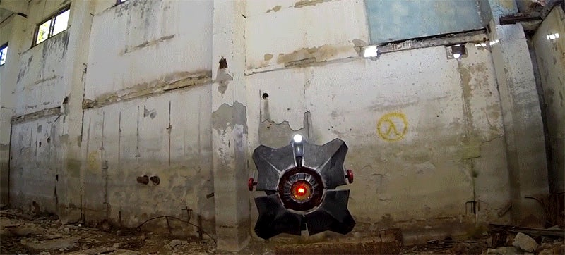 The Half Life 2 City Scanner Comes to Life With a Sweet Drone Mod