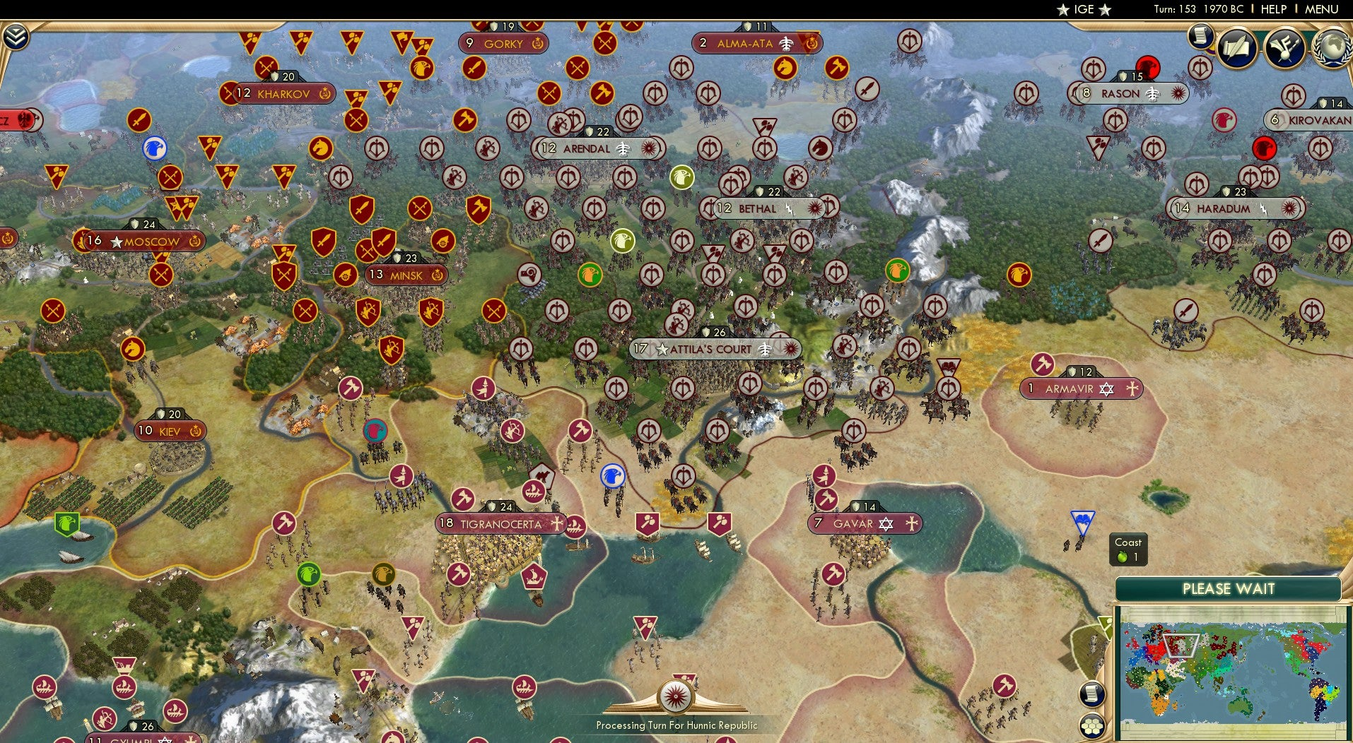 42-Player Civilisation Game Is Destroying The Planet
