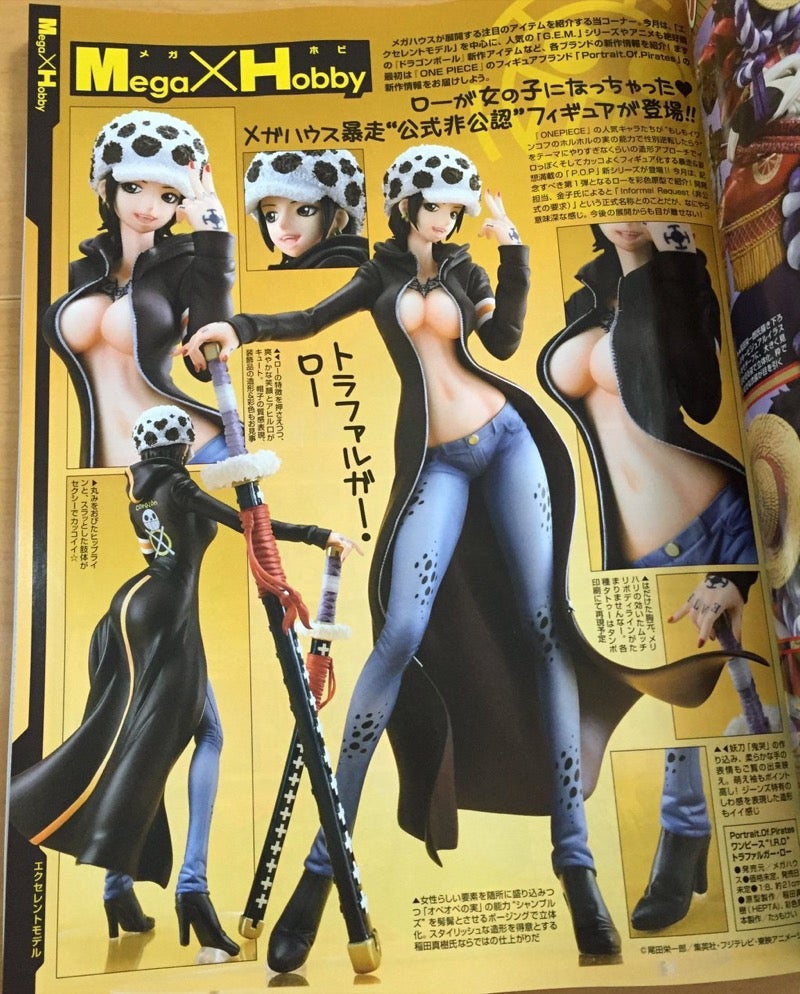 The Latest One Piece Collectible: Luffy as a Woman