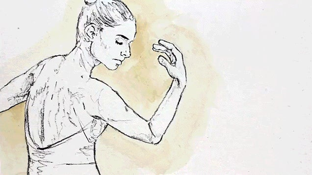 Beautiful Video Uses 1,250 Different Paintings to Show a Dancer Dancing