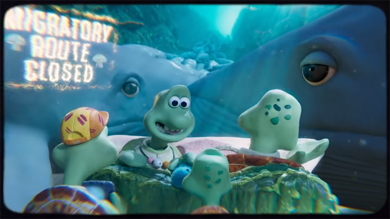 Aardman Animation's New Short Is A Devastating Reminder Of Humanity's Impact On Ocean Life
