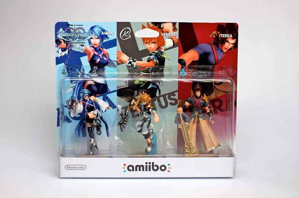 Custom Final Fantasy, Kingdom Hearts Amiibo Are Terrific