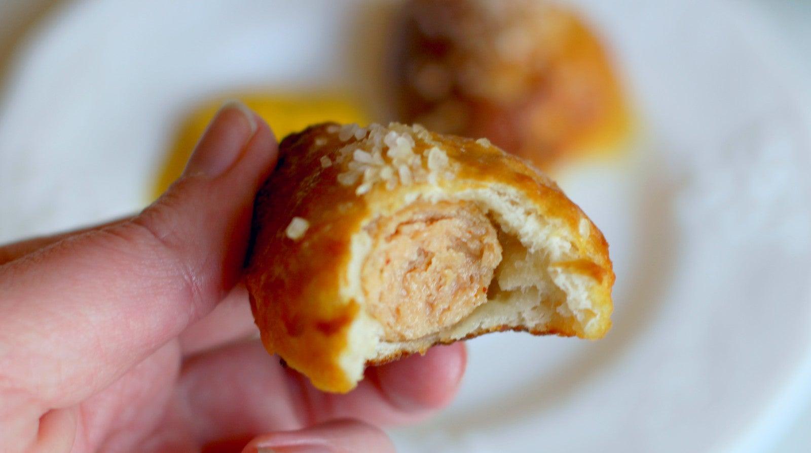 How To Make Stuffed Pretzel Bites With Pizza Dough