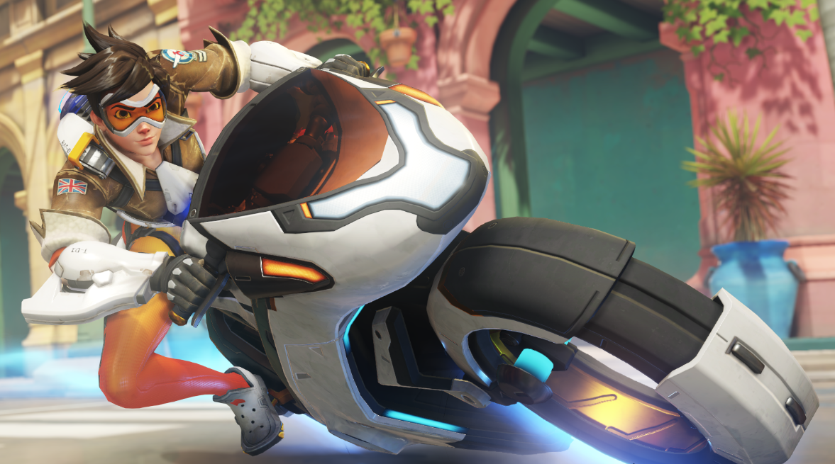 Dear Overwatch, Let Me Ride The Motorcycle