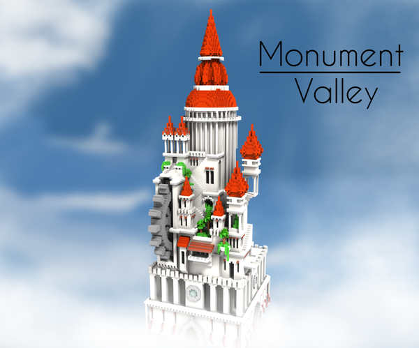 A Minecraft Tribute to Monument Valley