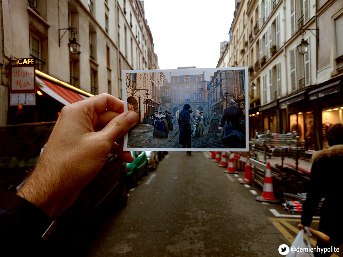 Assassin's Creed's Paris vs Paris, 2014