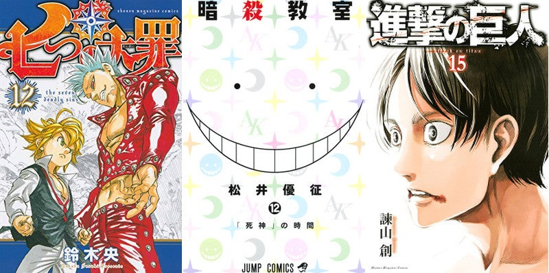 The Biggest Selling Manga Issues of 2015