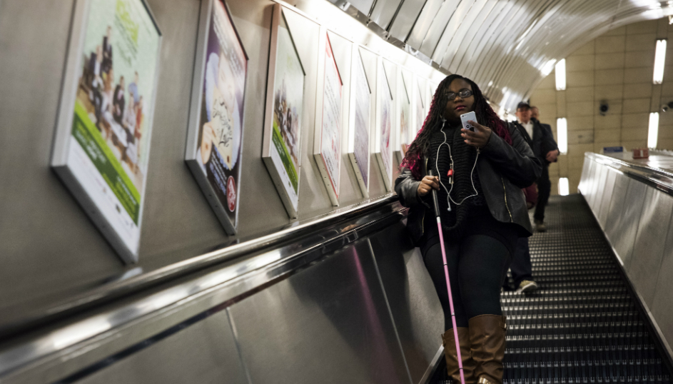 Bluetooth Beacons Will Help Blind People Navigate London's Tube
