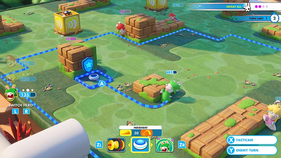 Mario + Rabbids Kingdom Battle Reveal Trailer, Release Date