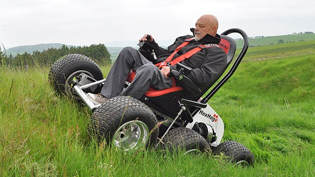 A Wheelchair That Gives The Rider Even More Mobility Than Walking