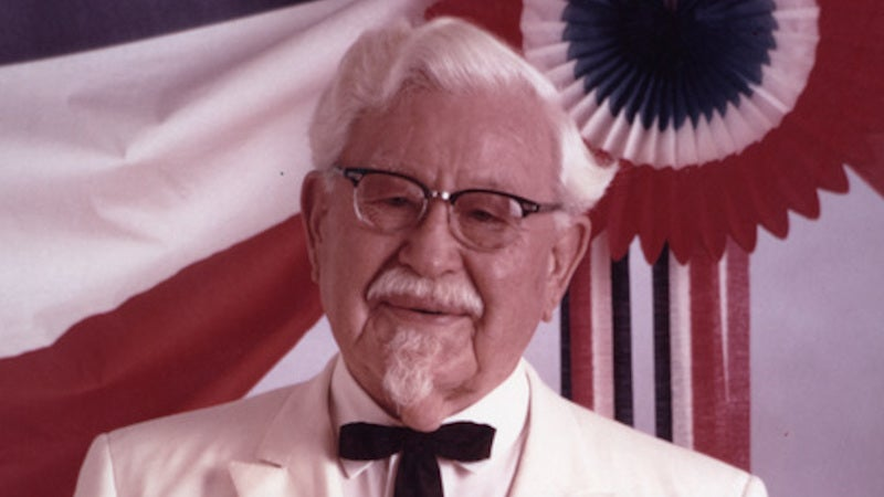 The Time KFC's Colonel Sanders Nearly Scared My Dad to Death