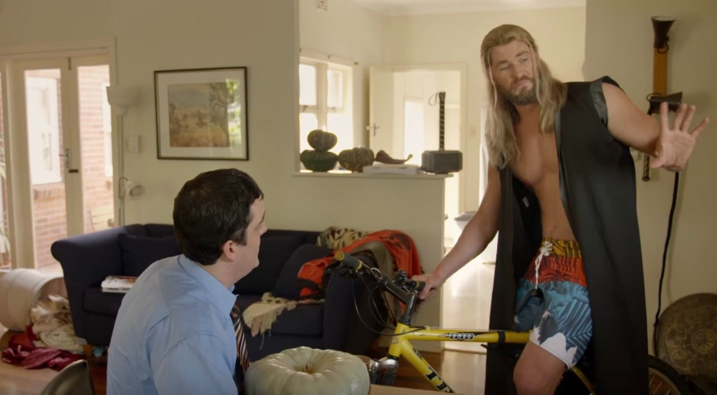 Video Evidence That Thor's Roommate Darryl Survived Avengers:Infinity War
