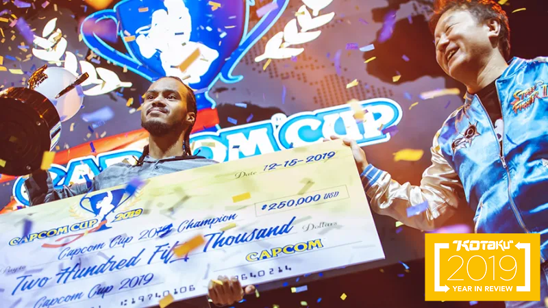 The Year In Fighting Game Championships