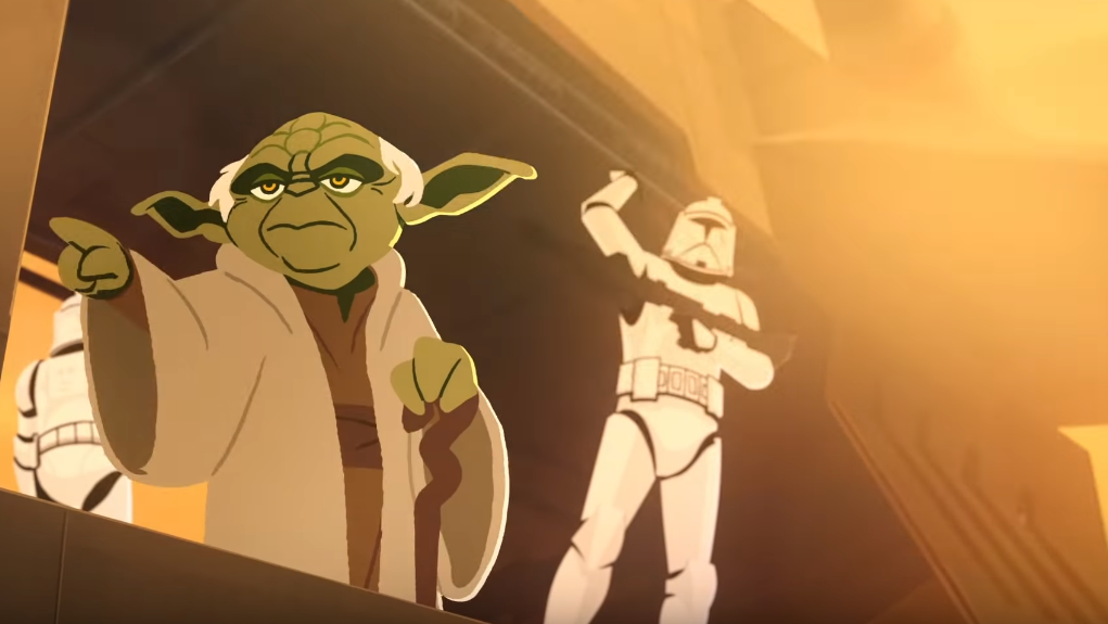 Yoda Is A Tragic Trickster In This Star Wars Galaxy Of Adventures Short