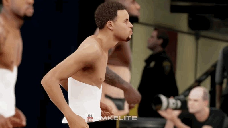 Steph Curry, Shaking That Arse Just Like An NBA Dancer
