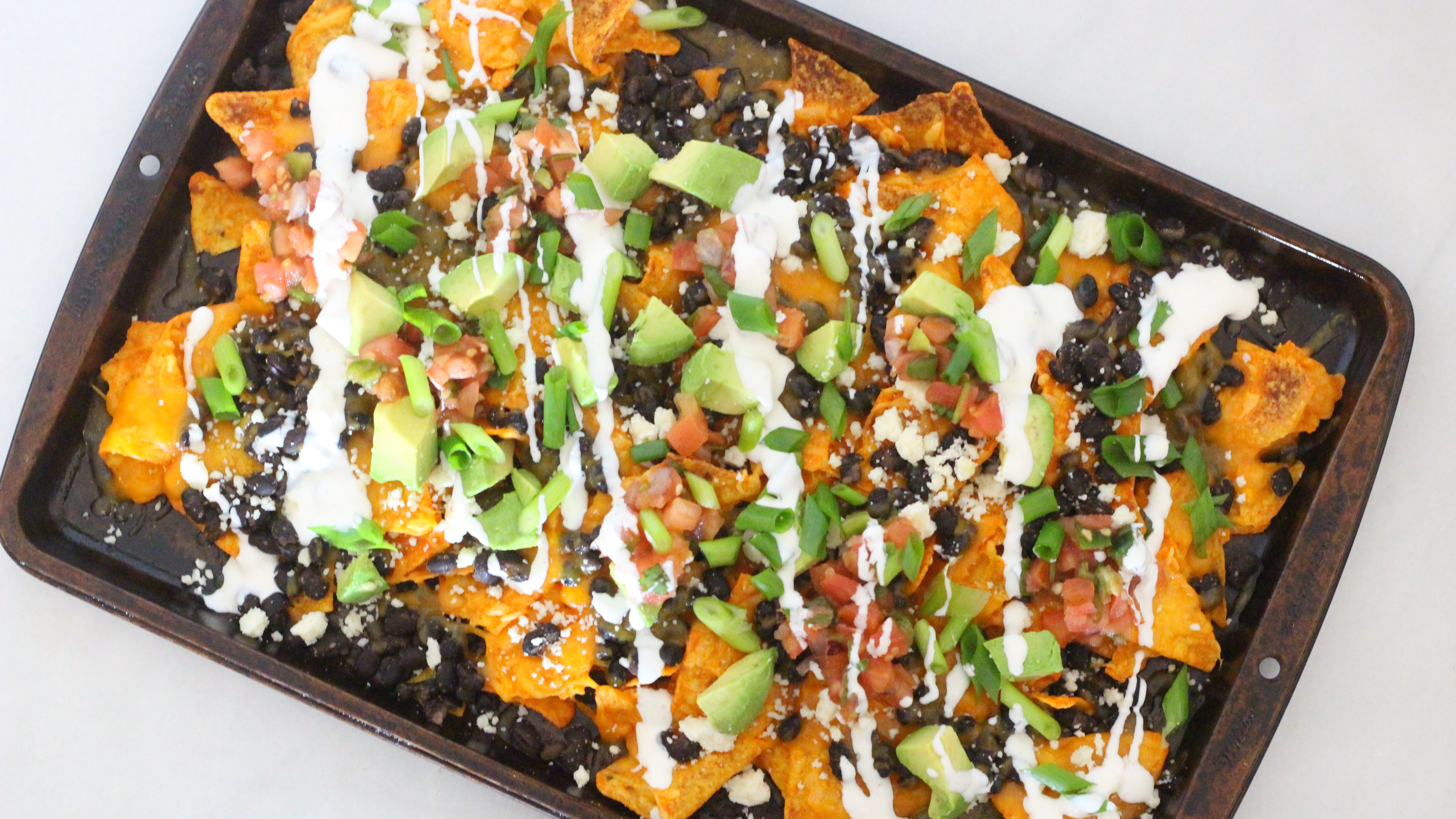 Build Your Nachos On Doritos