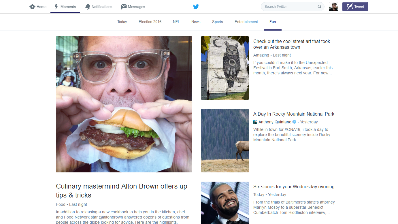 Twitter Now Lets Anyone Collect Tweets Into Moments, Embed Them In Web Pages