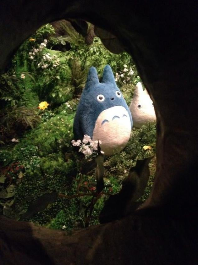 Lucky Humans Get To See Studio Ghibli Brought to Life