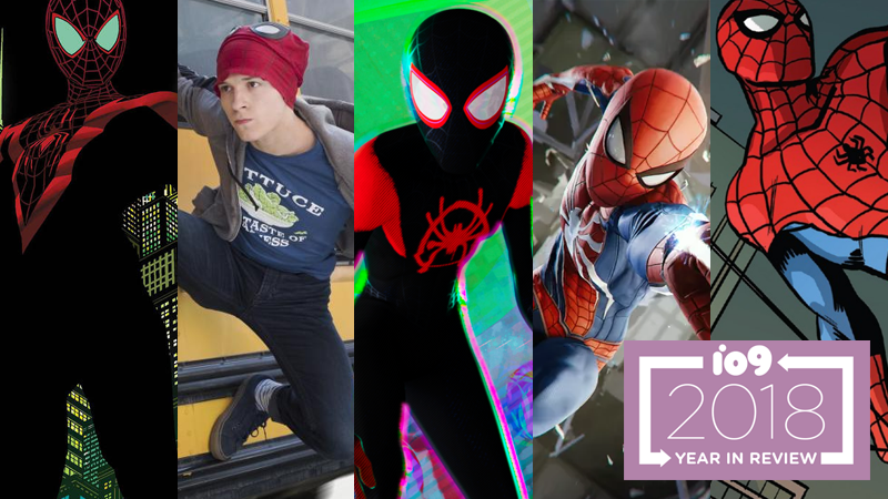 The Amazing, Spectacular, Sensational, And Ultimate Year In Spider-People