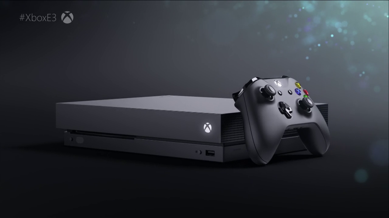 Microsoft's Xbox One X goes official