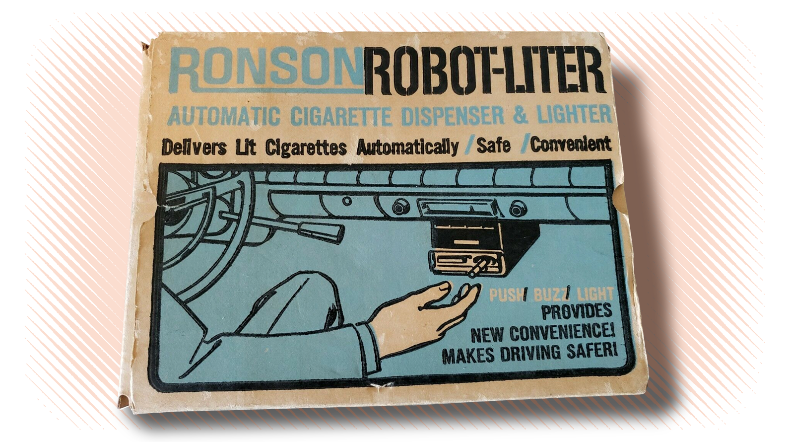 People Once Wanted Their Cars To Spit Lit Cigarettes At Them
