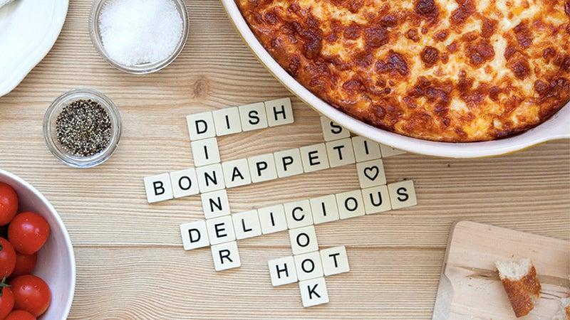 The Perfect Potholder For Crossword-Loving Chefs