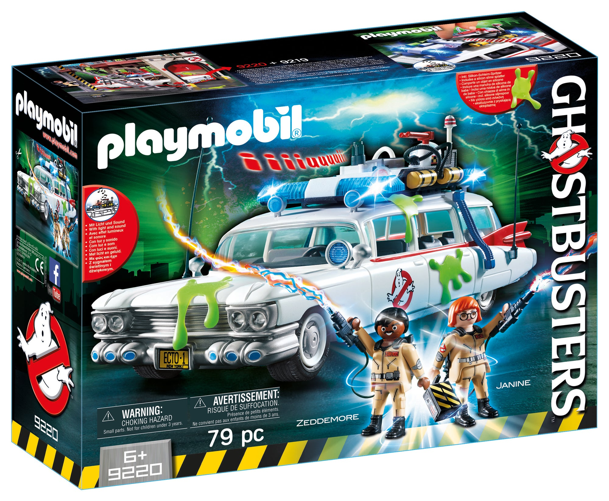 playmobil 39 s new ghostbusters toys are so great you 39 ll wish. Black Bedroom Furniture Sets. Home Design Ideas