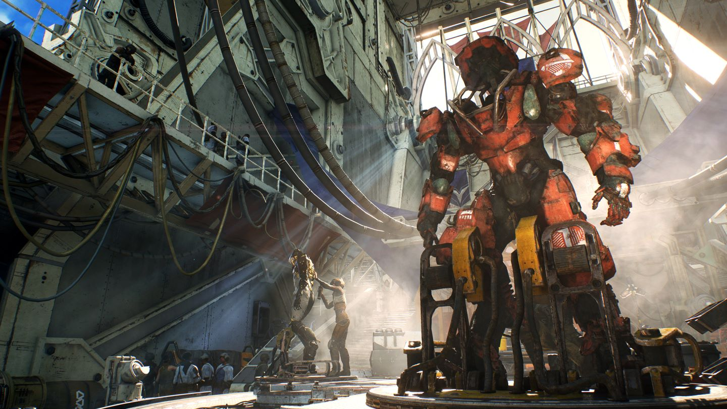 BioWare Says They Are Adding A Social Hub To Anthem Because Fans Asked For It