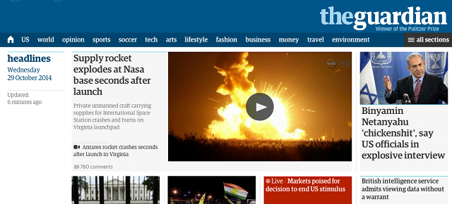 The Guardian's First Redesign In Years Actually Reads Like The Internet