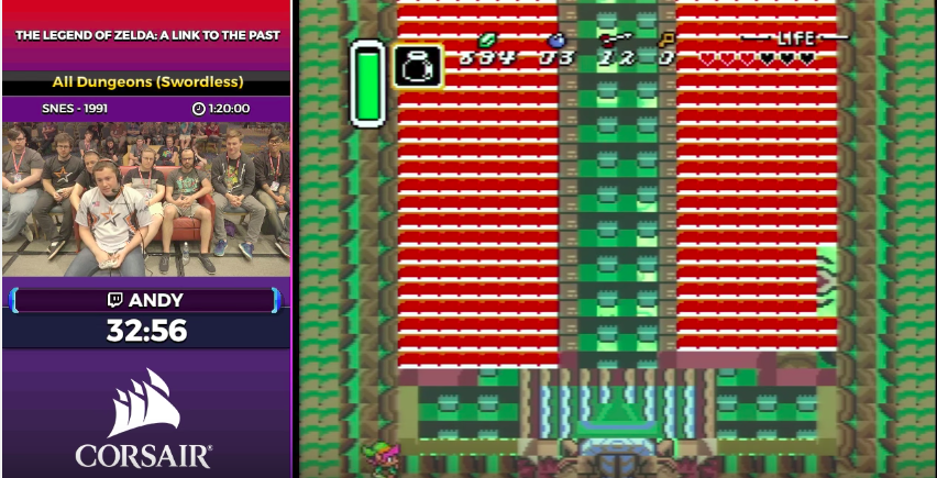 Speedrunner Beats All OfLink To The Past's Dungeons Without A Sword