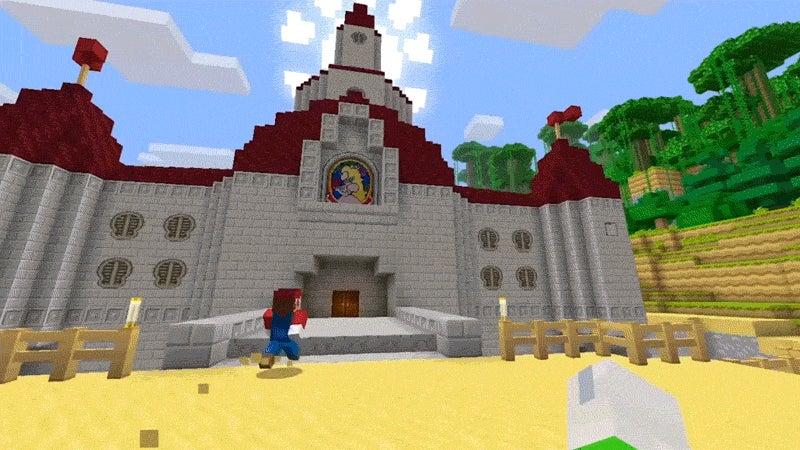 Super Mario Is Headed to Minecraft: Wii U