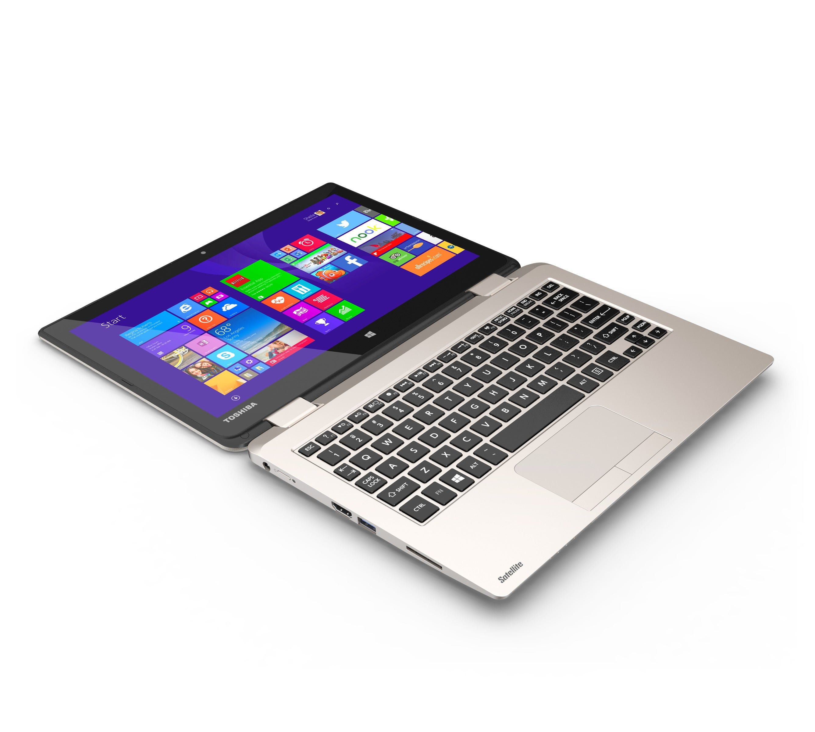 Toshiba Radius 11: A Neat Convertible With Bags of Storage on the Cheap