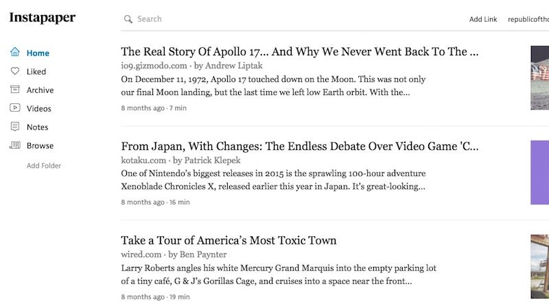 Instapaper Premium Features Are Now Free For Everyone