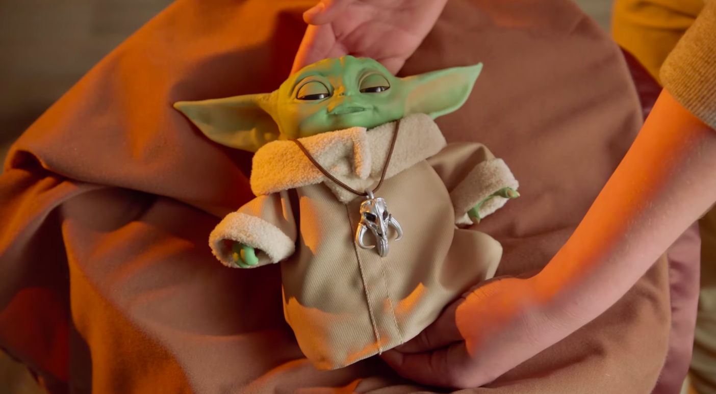 The Animatronic Baby Yoda Is For All Force Sensitive Children
